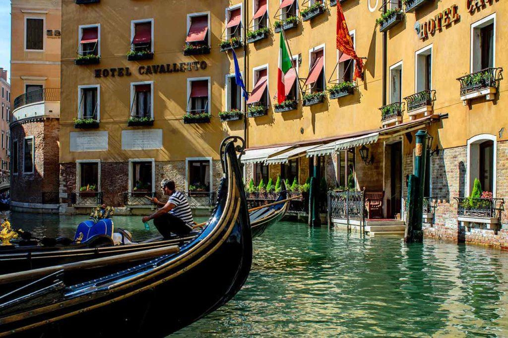TOP 10 Hotels in Venedig
