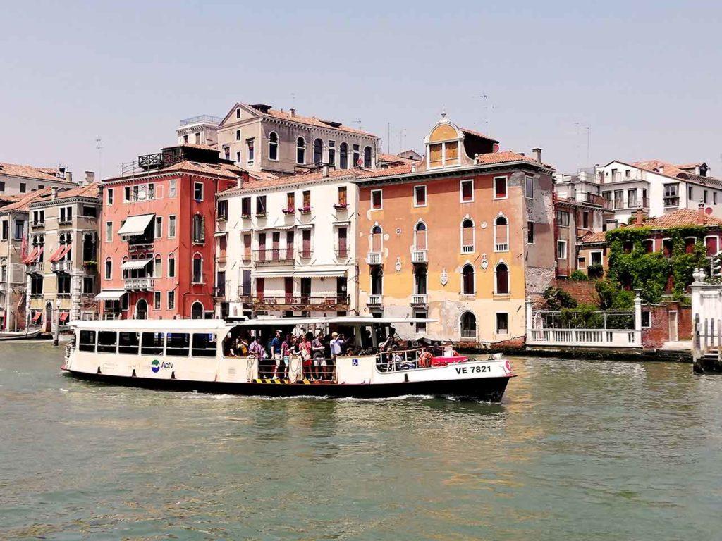 Öffentliche Verkehrsmittel in Venedig - Fahrkarten, Tickets, Preise & Infos
