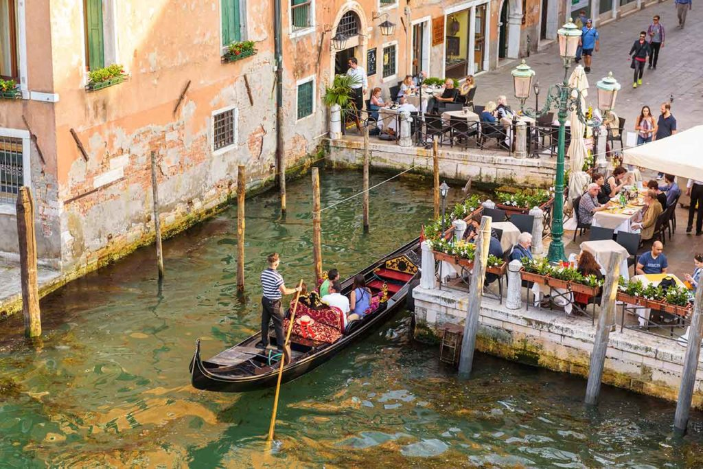 Verhaltensregeln und Trinkgeld in Venedig