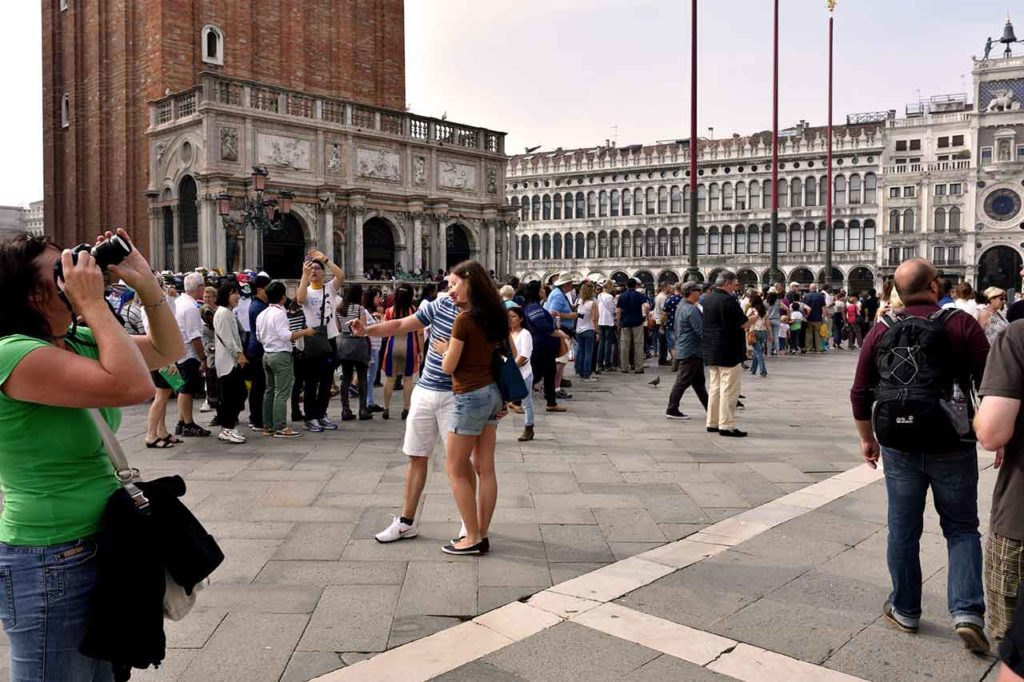 Wartezeiten an den Sehenswürdigkeiten in Venedig