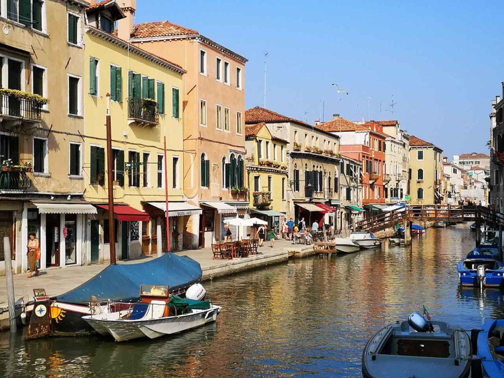 Sehenswürdigkeiten in Venedig