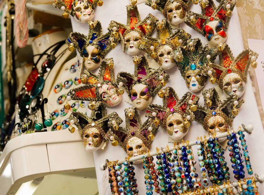 Die Souvenir Shops am Markusplatz