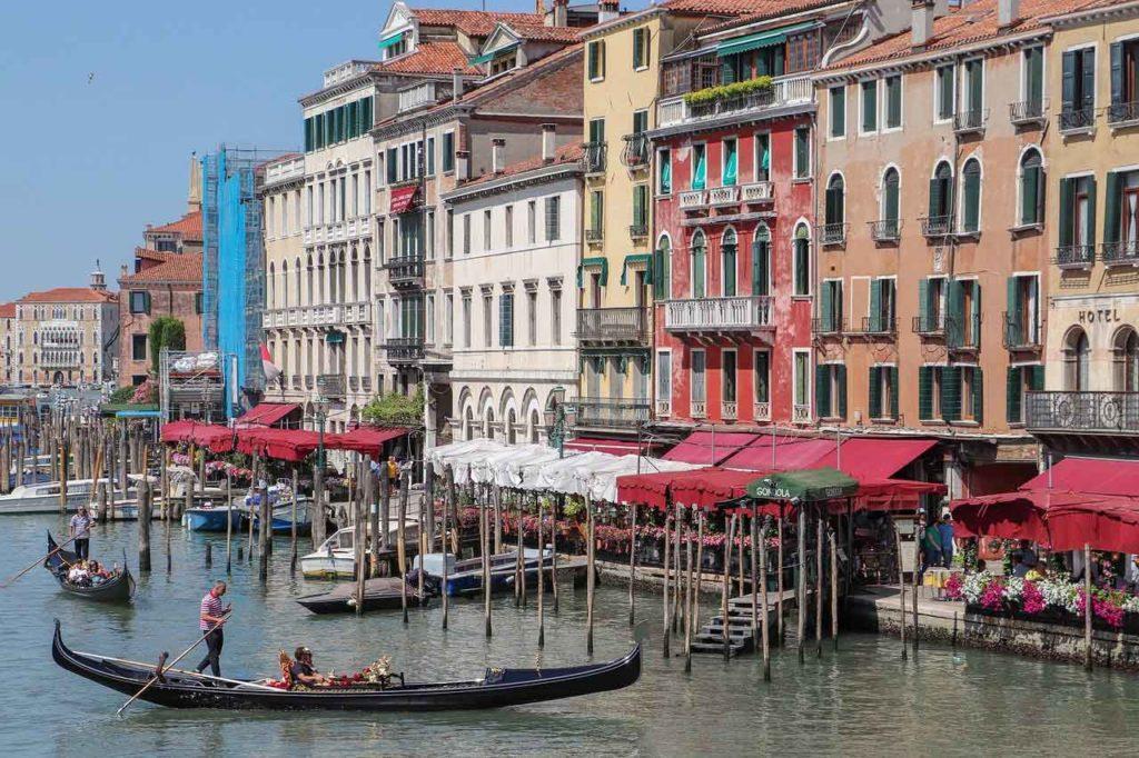 Restaurants und Cafés am Canal Grande