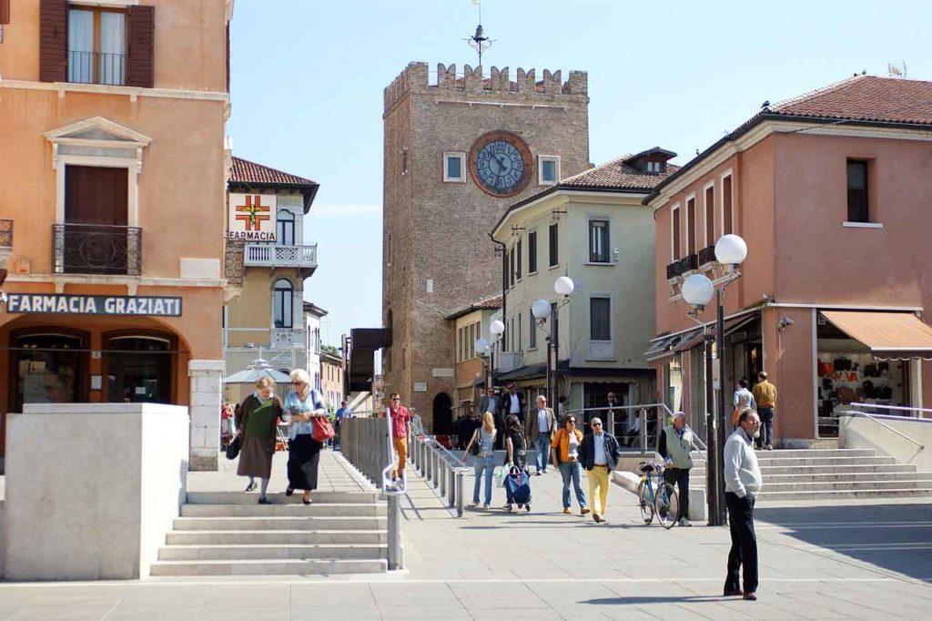 Parken in Venedig